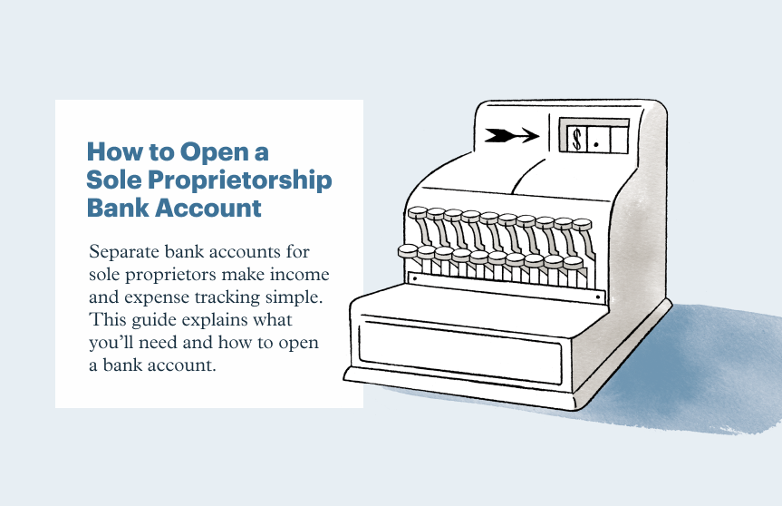 How to Open a Sole Proprietorship Bank Account in 3 Steps
