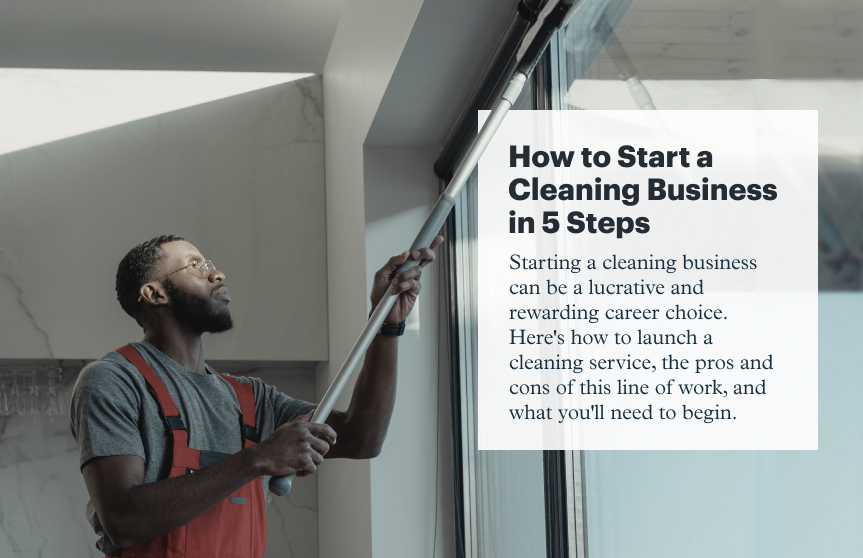 How to Start a Cleaning Business in 5 Steps