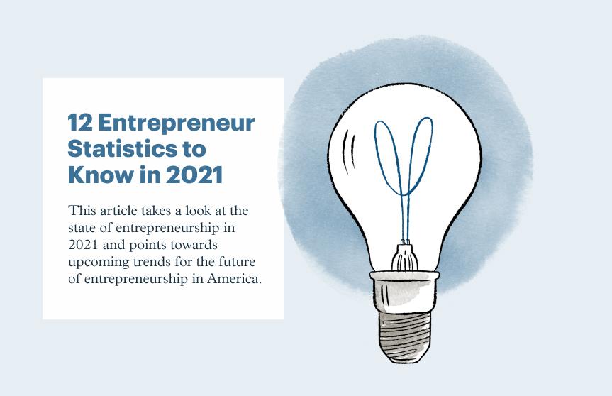 12 Surprising Entrepreneur Statistics to Know in 2021