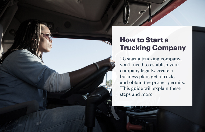 How to Start a Trucking Company in 7 Steps